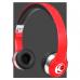 Krankz Wireless On-Ear Headphones Red